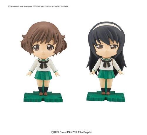 BANDAI MODEL KITS 217621 Yukari/Mako Petiture-rise