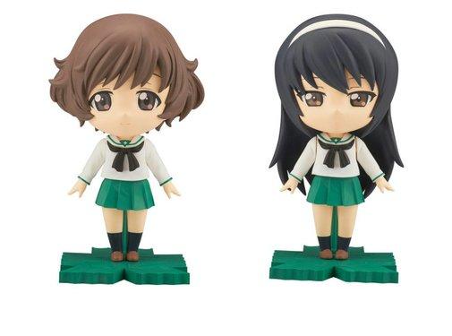 BANDAI MODEL KITS Yukari/Mako Petiture-rise