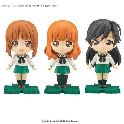 BANDAI MODEL KITS 217620 Miho/Saori/Hana Girls Petiture-rise