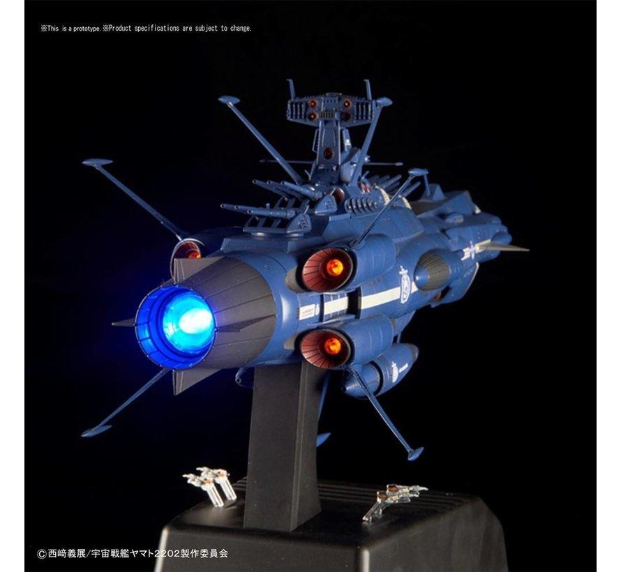"(D) 217848 Aldebaran (Movie Effect Ver.) ""Yamato 2202"", Bandai Star Blazers 1/1000"