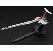 BANDAI MODEL KITS No.13 Ultra Hawk 001 Alpha