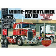 AMT - AMT Models 1/25 White Freightline Cabover 75th