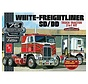 AMT1046/06 1/25 White Freightliner 2-in-1 SC/DD Cabover 75th