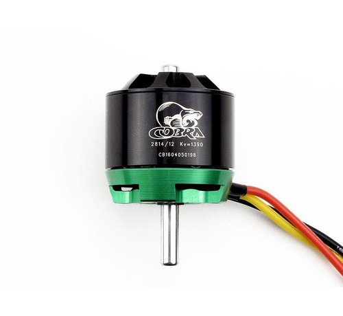 COB Cobra Motors Cobra C-2814/12 Brushless Motor, Kv=1390