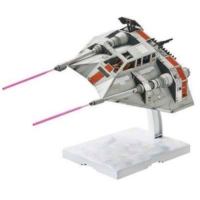 BANDAI MODEL KITS 217734 1/48 & 1/144 Snowspeeder Set Star Wars Bandai