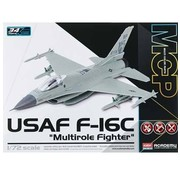 Academy (ACY) 1/72 F-16C USAF Multirole Fighter