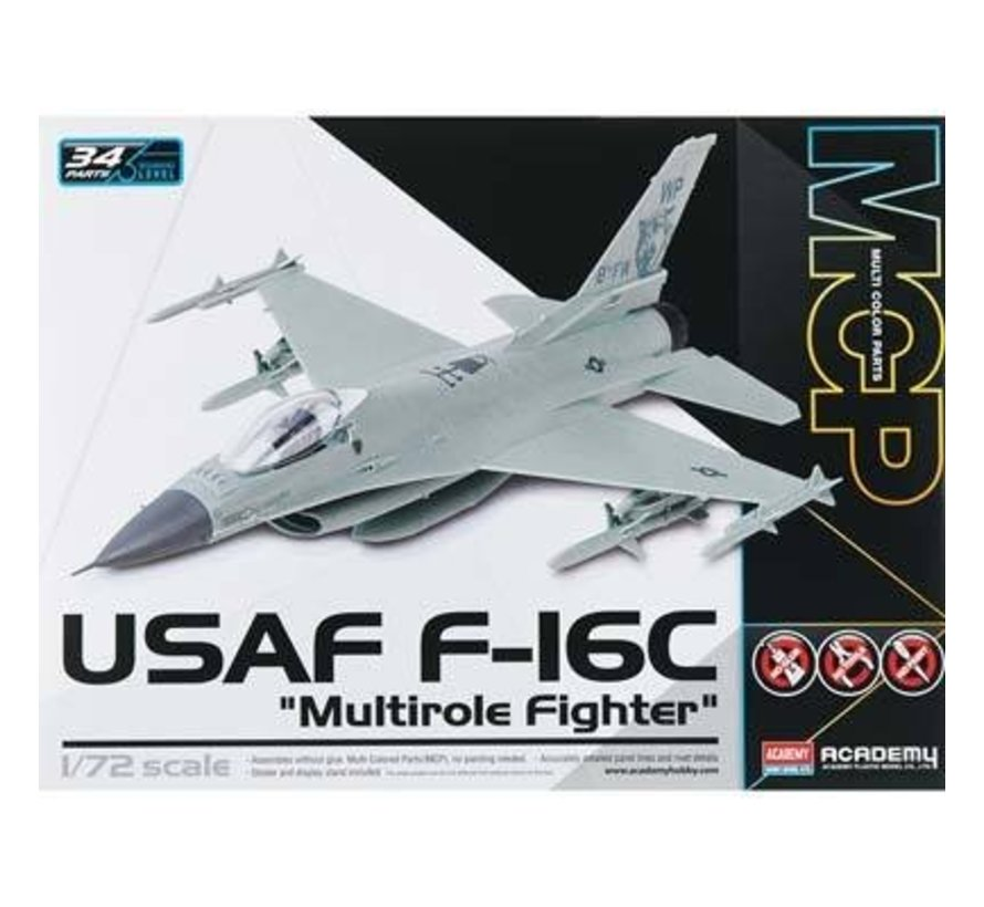 12541 1/72 F-16C USAF Multirole Fighter MCP