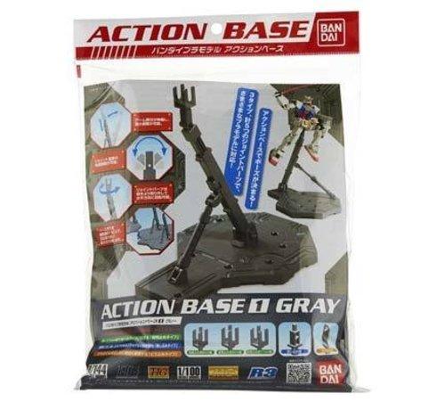BANDAI MODEL KITS 148216 1/100 Gray Display Stand Action Base I