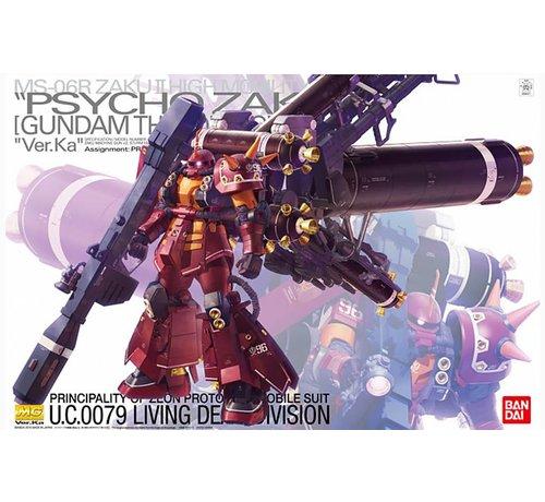 BANDAI MODEL KITS 209431 1/100 Psycho Zaku Ver Ka Gundam Thunderbolt MG