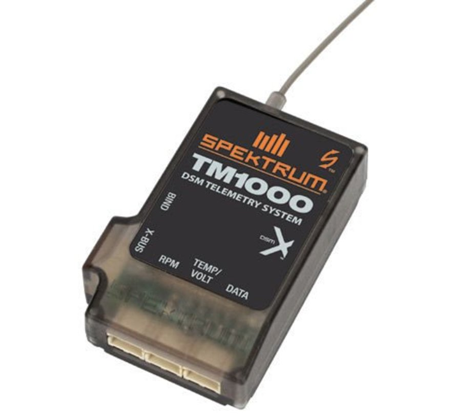 TM1000 DSMX Full-Range Aircraft Telemetry Module