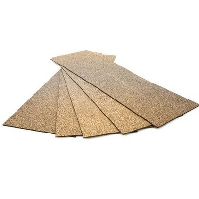 MID- Midwest 472- HO/O Wide Wood Cork Sheet Price Each