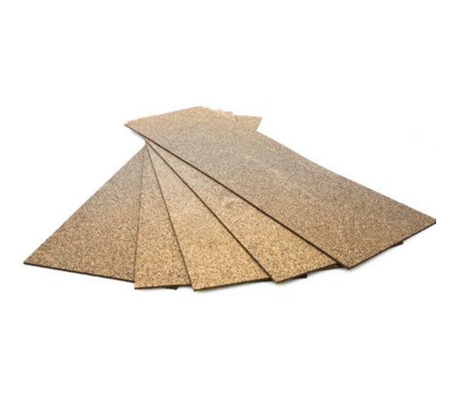 HO/O Wide Wood Cork Sheet Price Each