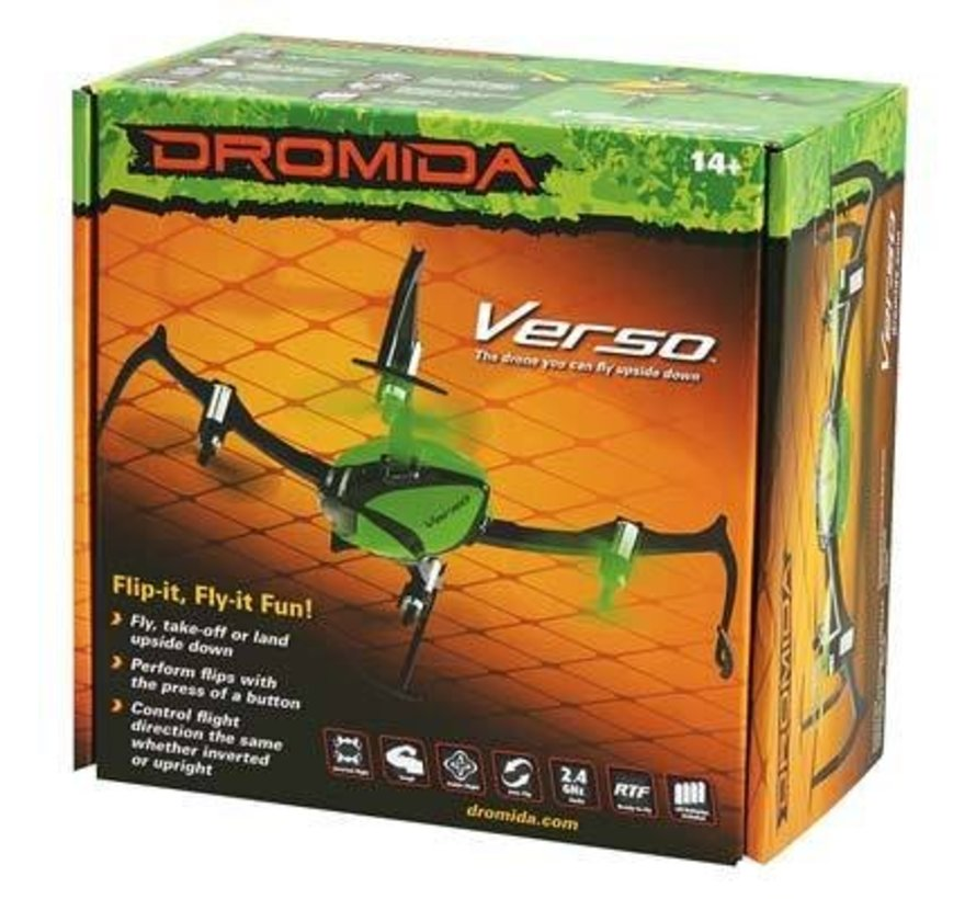 Verso Inversion QuadCopter UAV RTF Green