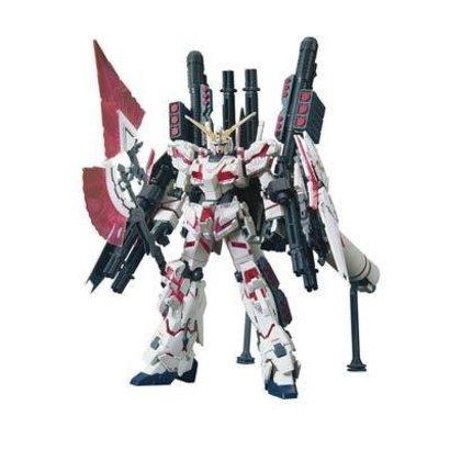 "BANDAI MODEL KITS 207581 #199 Full Armor Unicorn Gundam Destroy Mode/Red Color Ver. ""Gundam UC"" Bandai HGUC 1/144"