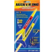 Estes Rockets (EST) 1499 Rascal and HiJinks Launch Racket Set RTF Ready