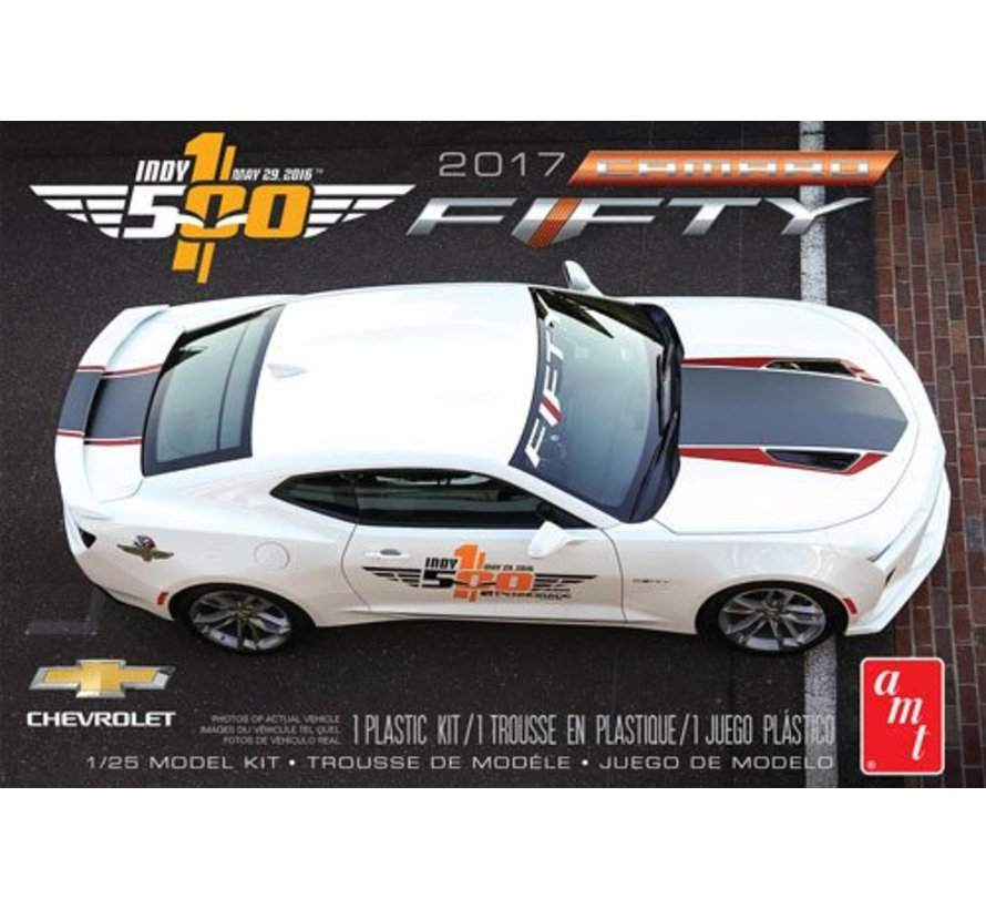 AMT1059M 1/25 2017 Chevy Camaro FIFTY Pace Car