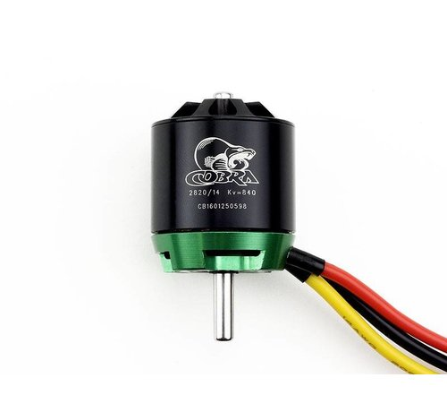 COB Cobra Motors Cobra C-2820/14 Brushless Motor, Kv=840 *