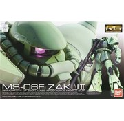 BANDAI MODEL KITS #4 MS-06F Zaku II RG