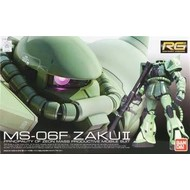 BANDAI MODEL KITS #4 MS-06F Zaku II RG