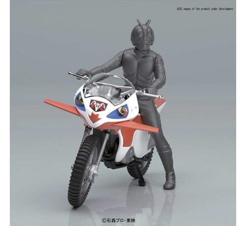 BANDAI MODEL KITS 219750 New Cyclone Kamen Rider