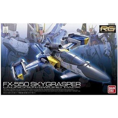 BANDAI MODEL KITS 175306  #6 SkyGrasper FX-550 with Launcher/Sword Pack RG 1/144
