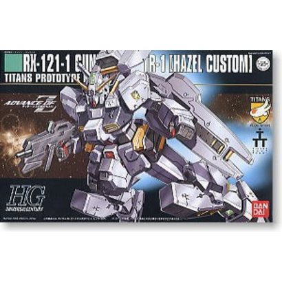 BANDAI MODEL KITS 5055608 1/144 HGUC #56 RX121-1 TR-1 Hazel Custom