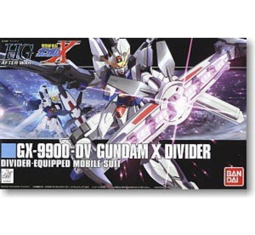 BANDAI MODEL KITS 165661 #118 GX-9900-DV Gundam X Divider, HGAW