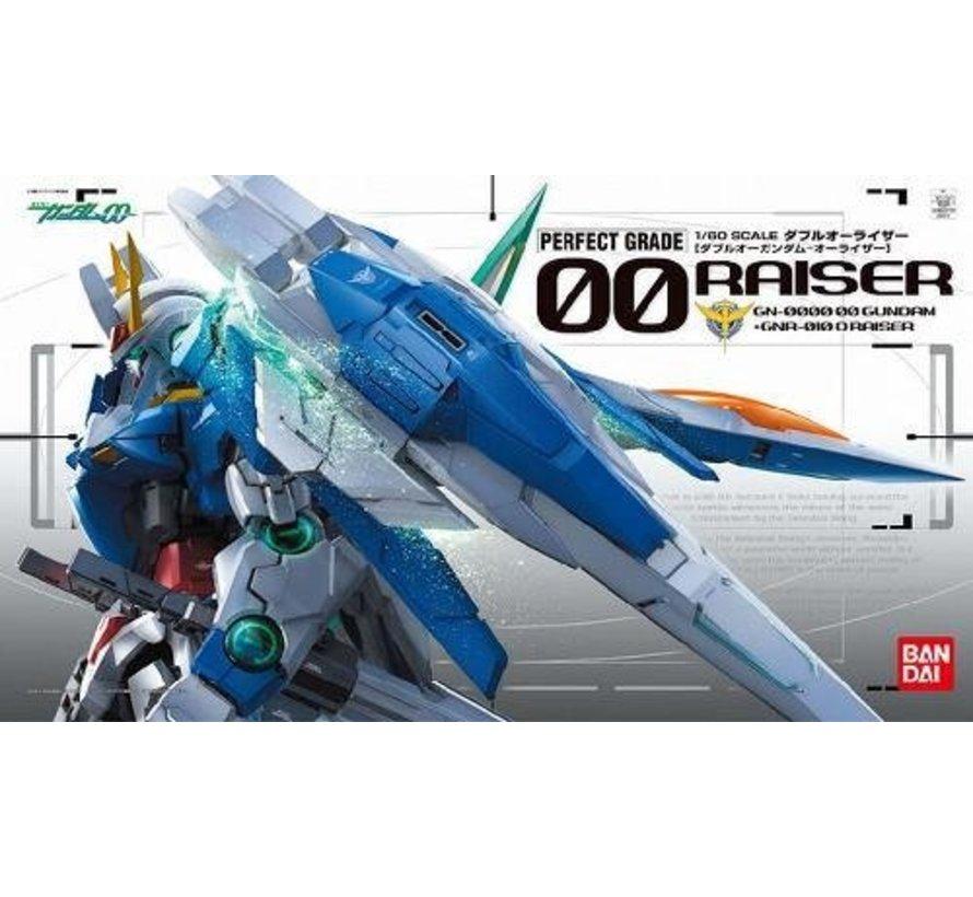 """161016 -  00 Raiser 1/60  """"Gundam 00"""", Bandai PG"""
