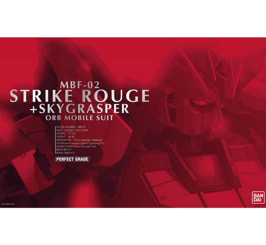 "138257 Strike Rouge + Skygrasper ""Gundam SEED"", Bandai PG"