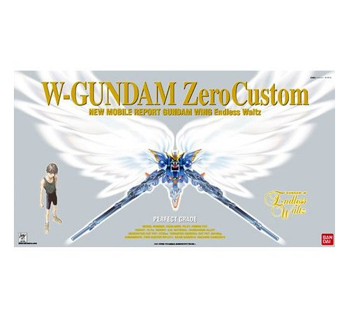 BANDAI MODEL KITS 77659 1/60 WING GUNDAM ZERO CUSTOM PG