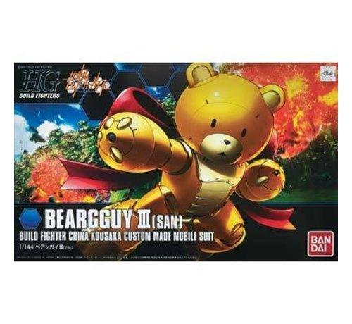 BANDAI MODEL KITS 5055432 1/144 #05 Beargguy III (Beargguy-san)