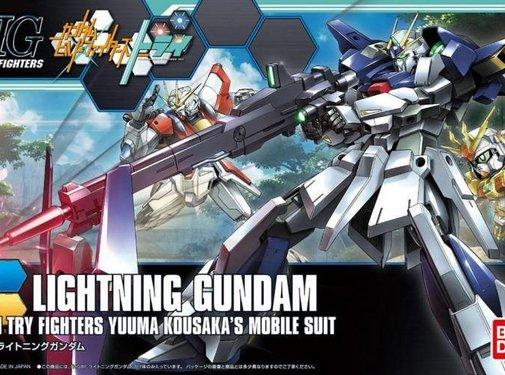 Bandai Lightning Gundam HGBF