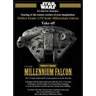 BAN - Bandai Gundam Wars Millennium Falcon 1/72 PG