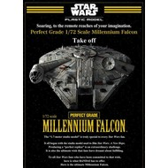BANDAI MODEL KITS Wars Millennium Falcon 1/72 PG