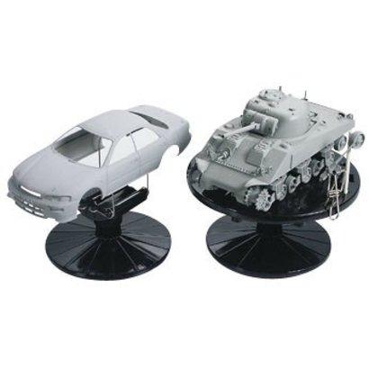 TAM - Tamiya 865- 74522 Plastic Model Painting Stand Set