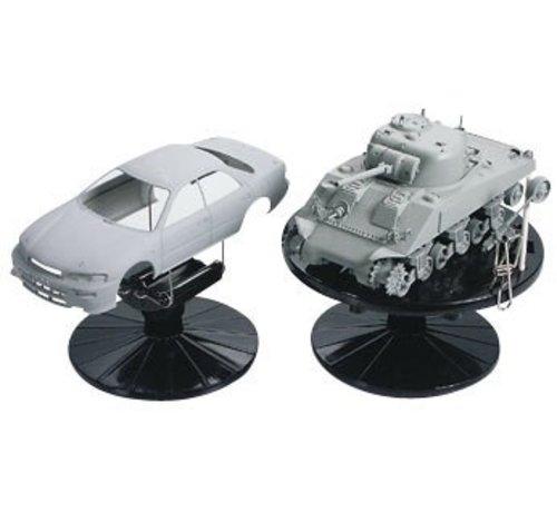 Tamiya (TAM) 865- 74522 Plastic Model Painting Stand Set