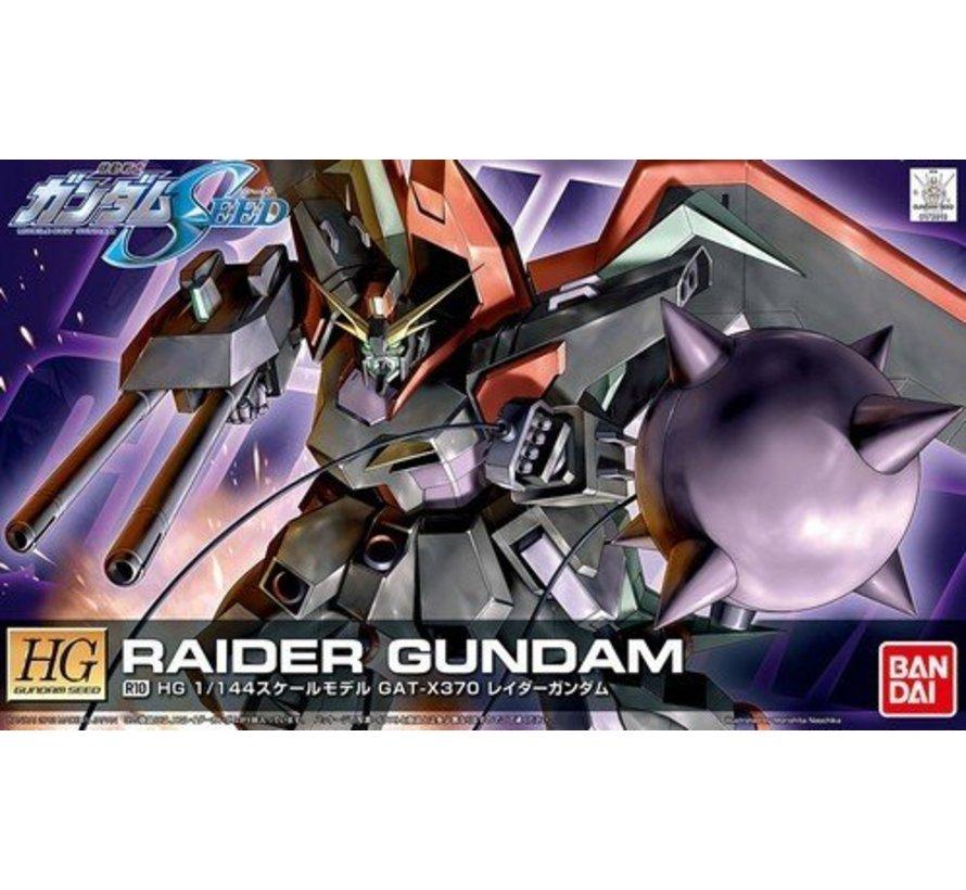 """5055738 R10 Raider Gundam """"Gundam SEED"""", Bandai HG SEED 1/144"""