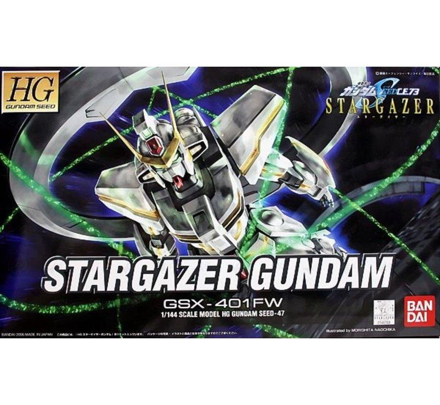 146748 #47 GSX-401FW Stargazer Gundam, Bandai Stargazer