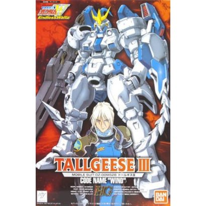 "BANDAI MODEL KITS 057131 EW-03 TALLGEESE III, ""Gundam Wing Endless Waltz"", Bandai HG-EW 1/100"
