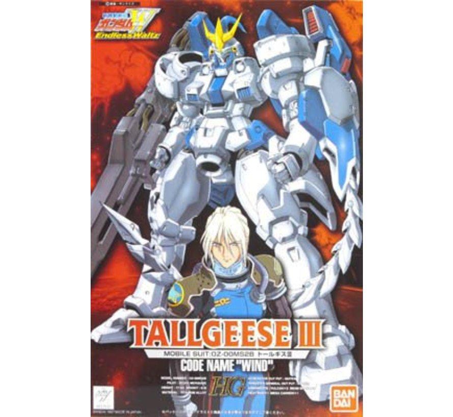 "057131 EW-03 TALLGEESE III, ""Gundam Wing Endless Waltz"", Bandai HG-EW 1/100"