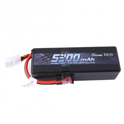 Gens ace Gens ace 5300mAh 11.1V 50C 3S1P HardCase Lipo Battery15# with Deans plug