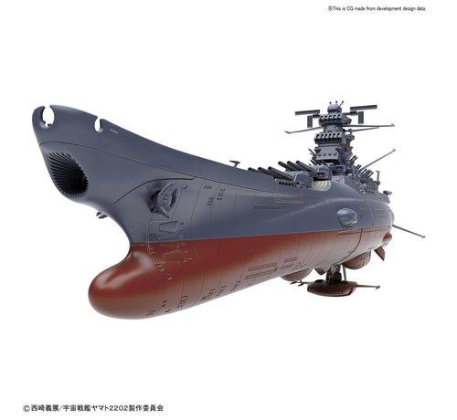 "BANDAI MODEL KITS 219552 Space Battleship Yamato ""StarBlazers 2202"", Bandai Starblazers 1/1000"