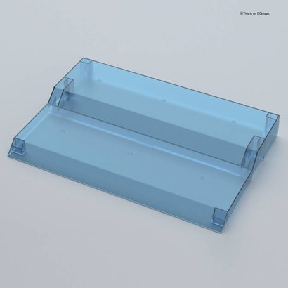 "BANDAI MODEL KITS 221051 COLLECTION STAGE CLEAR BLUE  ""Collection Stage"", Bandai"
