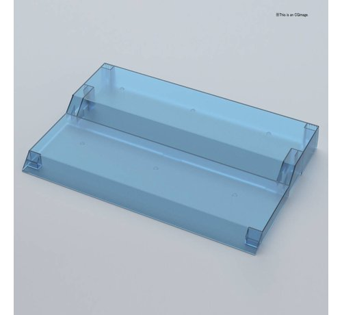 """BANDAI MODEL KITS 221051 COLLECTION STAGE CLEAR BLUE  """"Collection Stage"""", Bandai"""