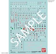 Bandai RG 1/144 GUNDAM ASTRAY RED FRAME Decals