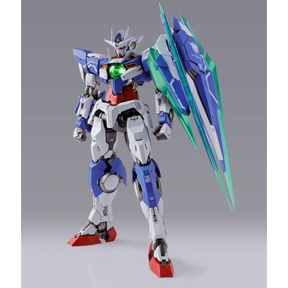 "Tamashii Nations 19258 00 Qan[T] ""Mobile Suit Gundam 00"", Bandai Metal Build"