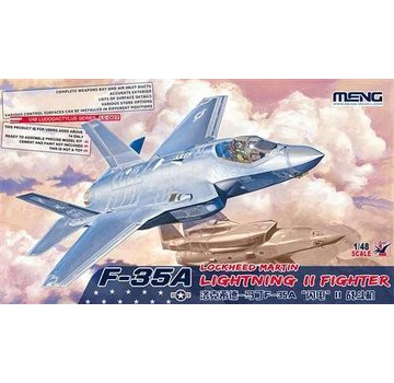 MENG MODEL (MGK) 1/48 F-35A Lightning II Fighter