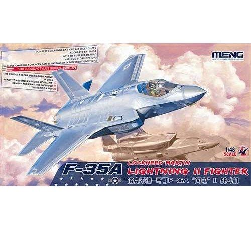 MGK-MENG MODEL KITS LS-007 Meng 1/48 F-35A Lightning II Fighter - MMLS007