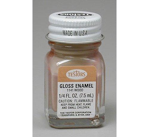 TES - Testors 1141 Enamel 1/4 oz Natural Wood