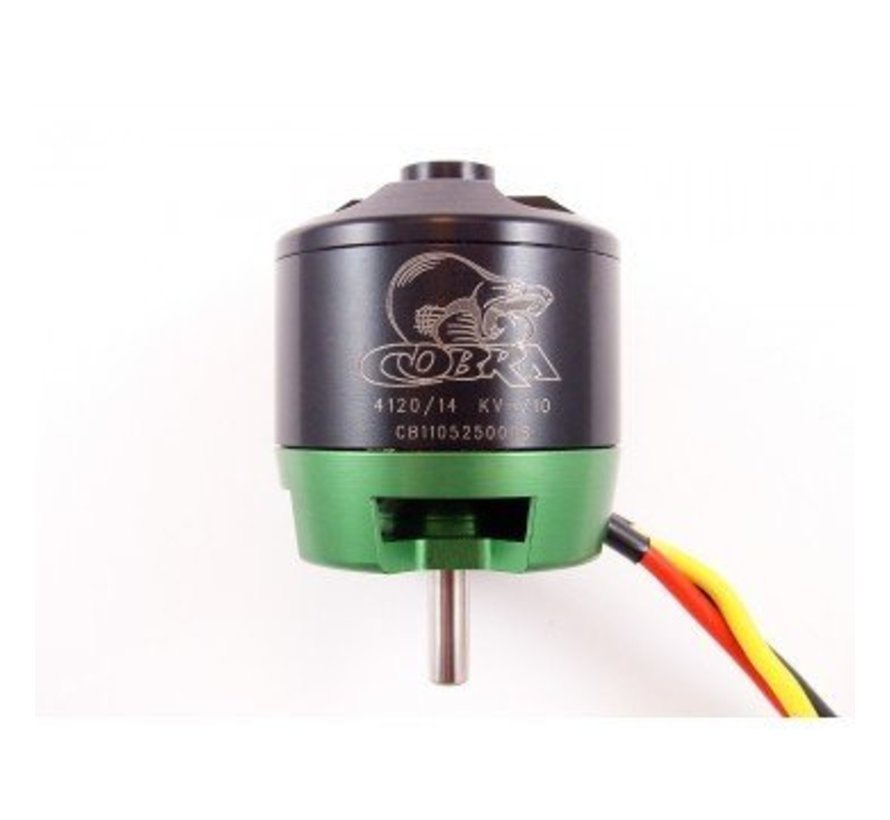 Cobra C-4120/14 Brushless Motor, Kv=710 *